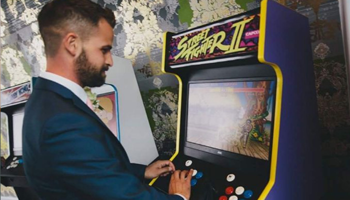 Wedding Arcade Hire